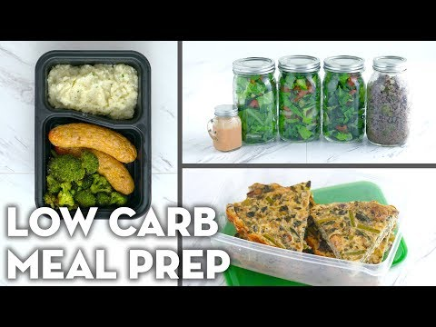 Low Carb Easy Meal Prep Recipes! Meal Prep Breakfast, Lunch and Dinner! - Mind Over Munch