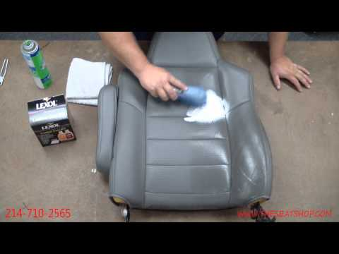 Leather Cleaning Video