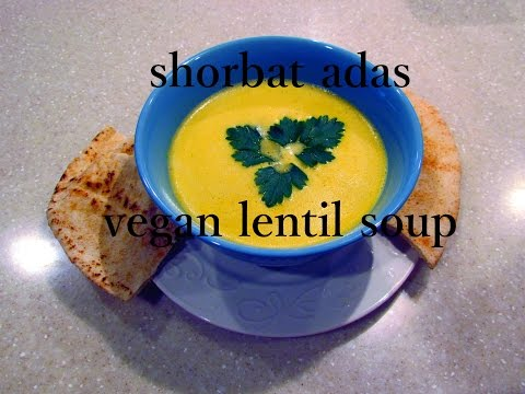 SHORBAT ADAS // EASY VEGAN LENTIL SOUP