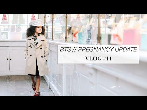 BTS // Pregnancy Update // Vlog #11