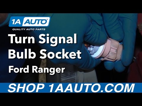 How to Install Replace Turn Signal Bulb Socket 2001 Ford Ranger Buy Quality Auto Parts at 1AAuto.com
