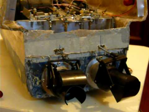 home make rc water jet drives--two jets control