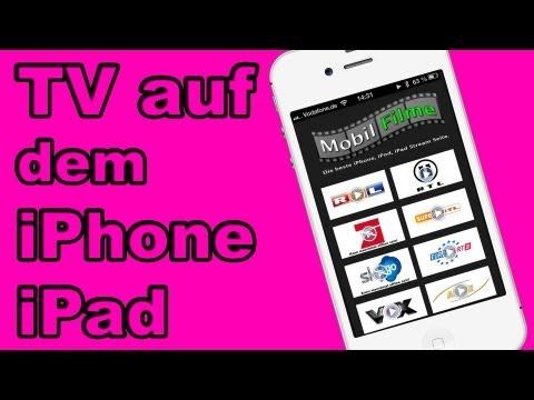 Sky go TV auf dem iPhone Deutsch Fernsehen