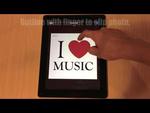PicCollage: tutorial video