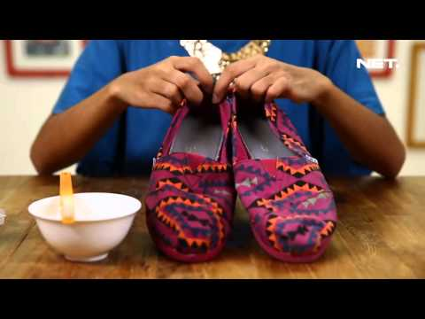 iLook - How To Clean Canvas Shoes