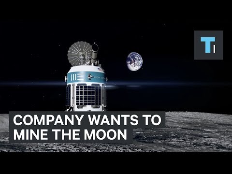 Company Wants To Mine The Moon Using Robots — And They Could Be Doing It In 3 Yeras