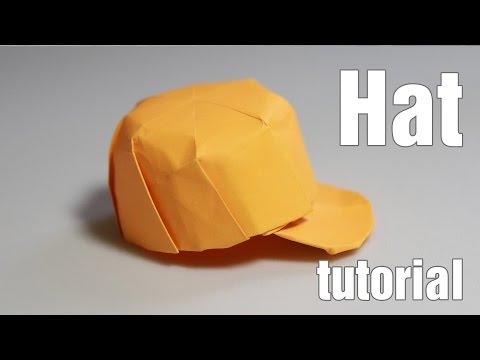Origami Hat - Snapback tutorial with diagram - DIY (Henry Phạm)