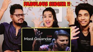 Krishna, shilpa & Abhishek Reaction On Sami Yusuf - Mast Qalandar (Live)