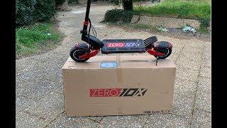 UNBOXING ZERO 10X !!! TROTTINETTE ÉLECTRIQUE.