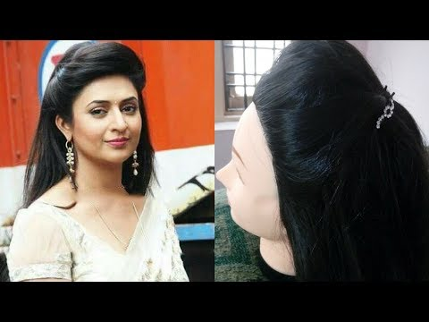 2.Divyanka Tripathi/Ishita bhalla inspired front puff hairstyle|Easy and simple hairstyle for women