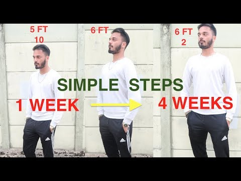 HOW TO GET TALLER IN 1 WEEK!! GROW TALLER FAST NATURALLY WITH THESE EASY STEPS!!