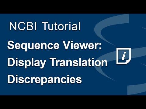 Sequence Viewer: Display Translation Discrepancies