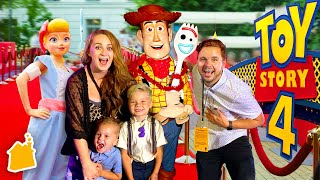TOY STORY 4 IN REAL LIFE WORLD PREMIERE SPECIAL!