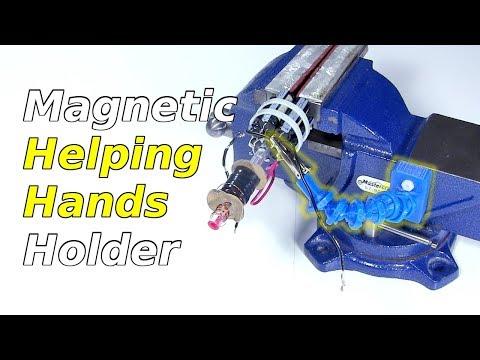 3D Printed Helping Hands Magnetic Holder