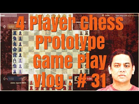 4 player chess #chess.com #Strategy : Base on your opponents rating  #vlog 31
