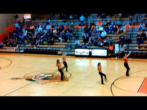 Beardstown High School Dance Team Lyrical Dance.