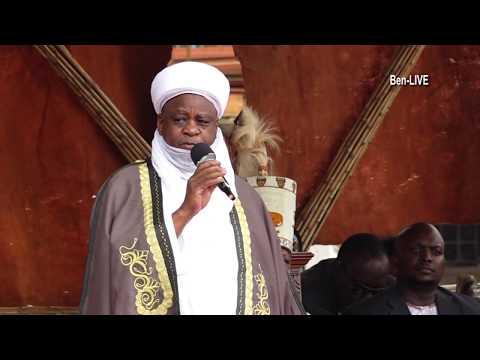 Africa's Most Powerful KING - Sultan of Sokoto (Nigeria), Muhammadu Sa'ad Abubakar in Uganda