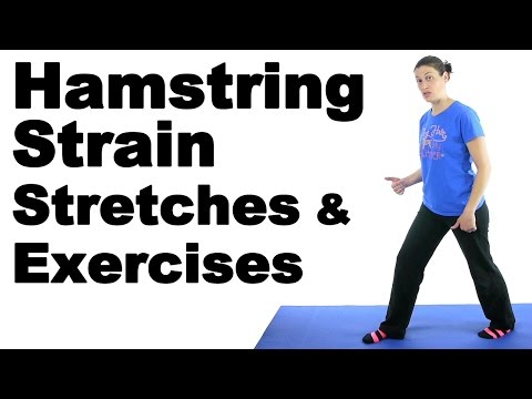 Hamstring Strain Stretches & Exercises - Ask Doctor Jo