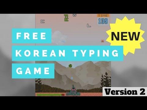Hangul Attack (UPDATED) - Free Korean Typing Game