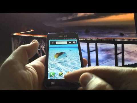 Screenshot mit dem Samsung Galaxy S2