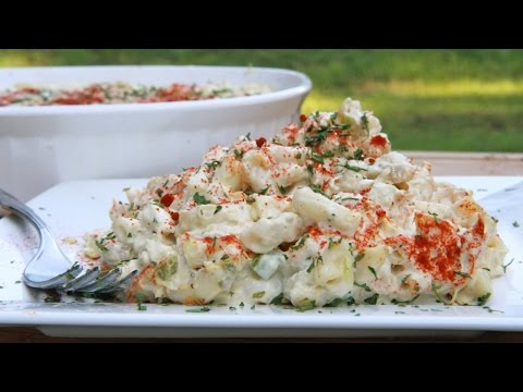 Easy Southern Tuna Macaroni Salad Recipe