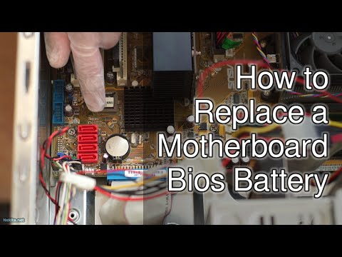 How to Replace a Motherboard Bios Battery