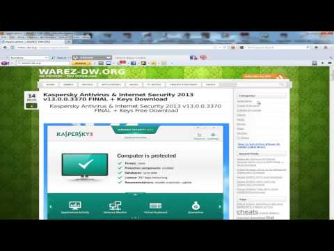 Kaspersky Antivirus & Internet Security 2013 v13.0.0.3370 FINAL + Keys Download