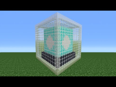 Minecraft Tutorial: How To Make A Beacon Statue