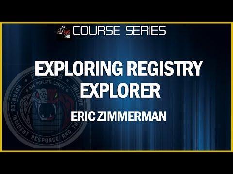 Exploring Registry Explorer
