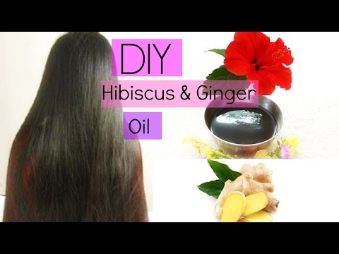 How to get Long Hair, Soft Hair, Smooth Hair & Healthy Hair | Hibiscus & Ginger Oil | Magical Remedy