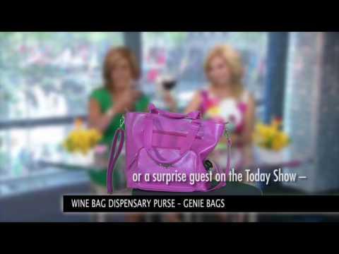 GenieBags wine bags in action
