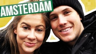 TOURING AMSTERDAM!! | Shawn + Andrew
