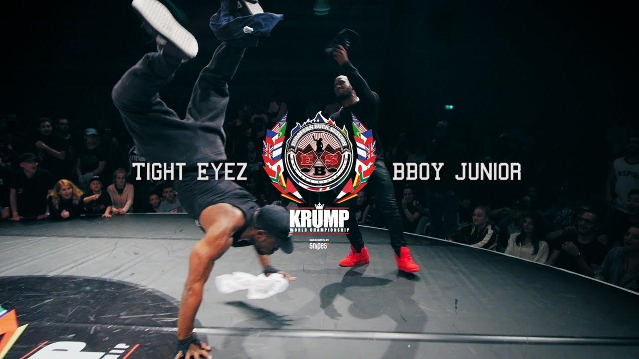 Tight Eyez vs BBoy Junior   Exhibition Battle   EBS 2017