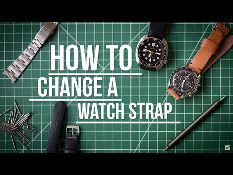 How To Change a Watch Strap by Worn & Wound