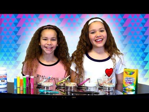 DIY Crayon Chapstick! (Sierra & Olivia Haschak)