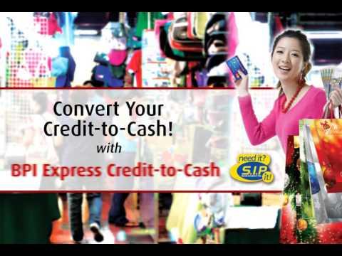 BPI Credit to Cash