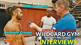 Download ″Pacquiao is Smarter than Thurman!″: INTERVIEWING FIGHTERS FROM WILDCARD GYM Video