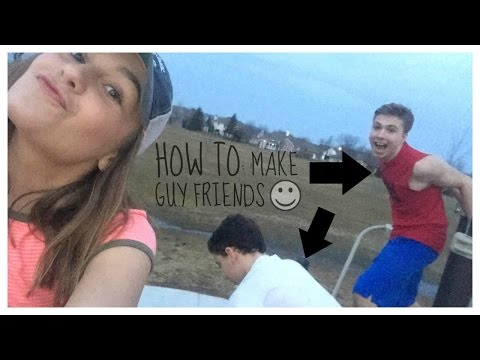 how to: make guy FRIENDS// mckennaxrose