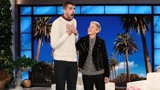 Ellen Surprises LGBTQ Trailblazer Trent Bauer