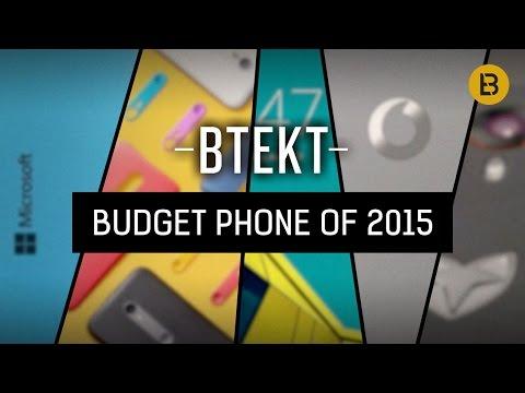 Best budget smartphone of 2015 - Btekt Awards