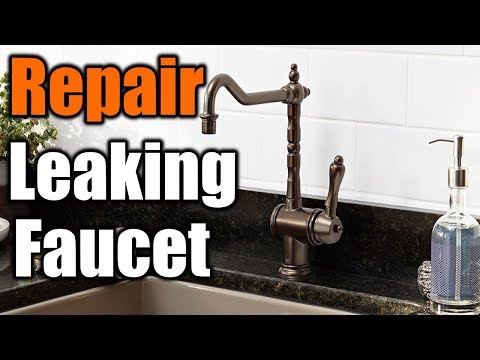 How To Install A Kitchen Faucet| THE HANDYMAN |