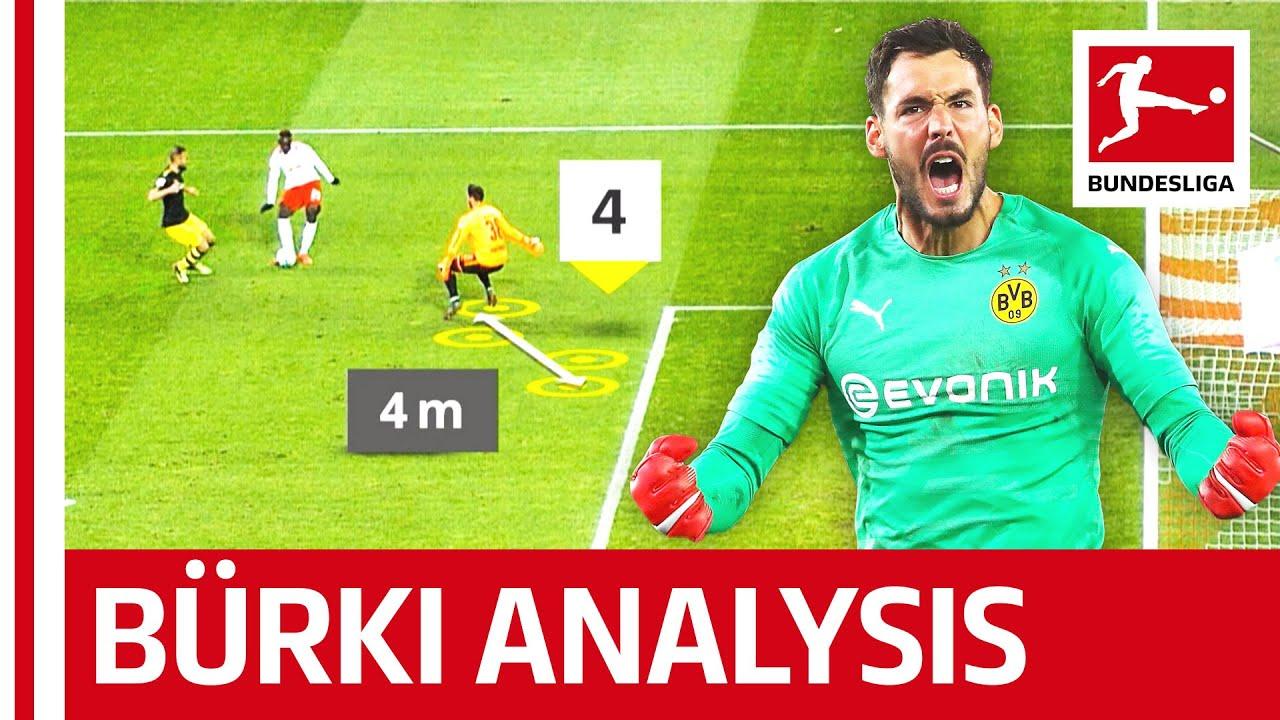 Roman Bürki - What Makes Dortmund's Goalkeeper So Good?
