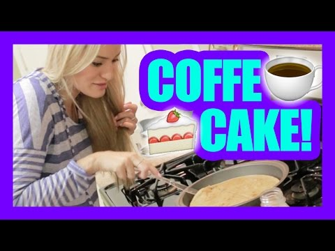 How To Make Coffee Cake! | iJustine Cooking