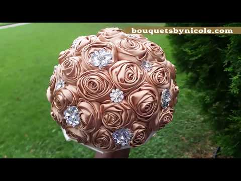 $39.99 #1 Easy DIY Brooch Bouquet l No Wires l Bouquet Tutorial l Wedding Project