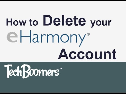 How to Delete your eHarmony Account