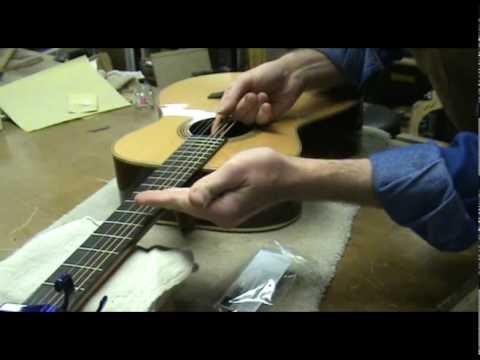 Luthier Tips du Jour - Acoustic Guitar Set Up