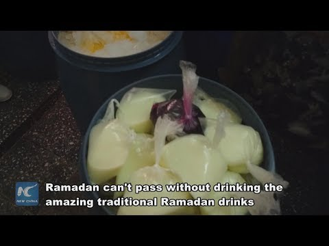 Egyptians share most popular drinks with friends in Ramadan