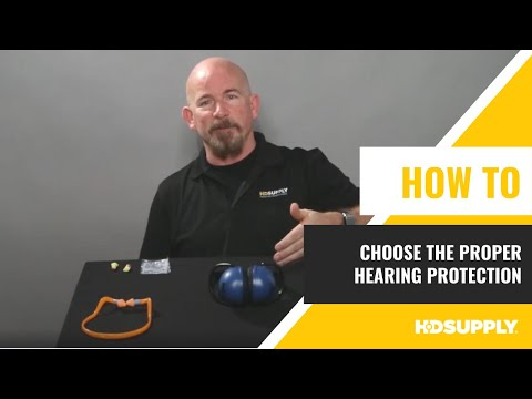How to Choose the Proper Hearing Protection - HD Supply Facilities Maintenance