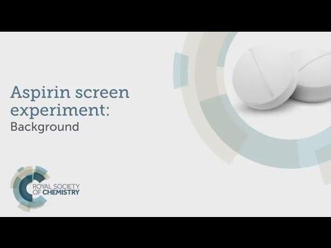 The aspirin screen experiment level 1