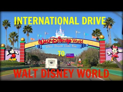 SONY HDR CX900 - INTERNATIONAL DRIVE TO WALT DISNEY WORLD UNDER 4 MINUTES